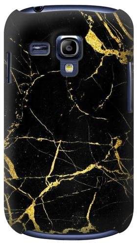 Printed Gold Marble Graphic Printed Samsung Galaxy S3 mini Case