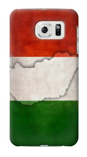 Printed Hungary Flag Samsung Galaxy S7 edge Case