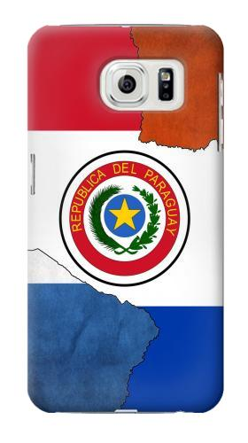 Printed Paraguay Flag Samsung Galaxy S7 edge Case