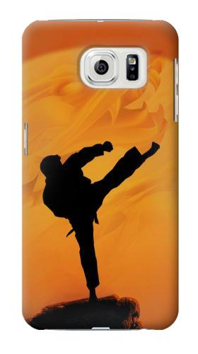 Printed Kung Fu Karate Fighter Samsung Galaxy S7 edge Case