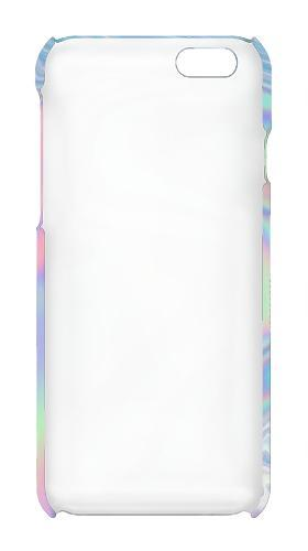Inside Case Pastel Holographic Photo Printed