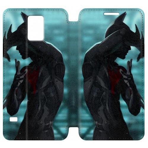 Flip PU Stand Batman Beyond Phone Case for Samsung Galaxy Note 4