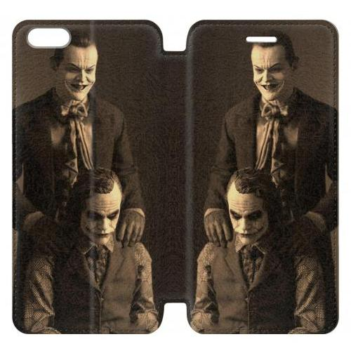 Flip PU Stand Jokers Together Phone Case for IPHONE 6