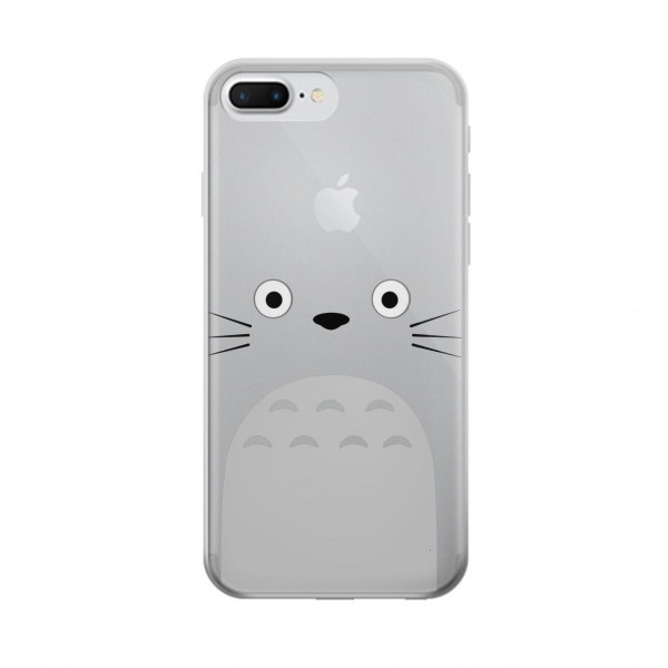 Clear My Neighbor Totoro Minimalist Iphone 7 plus Transparent Case