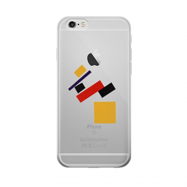 Clear Malevich Suprematism Iphone 6 Transparent Case