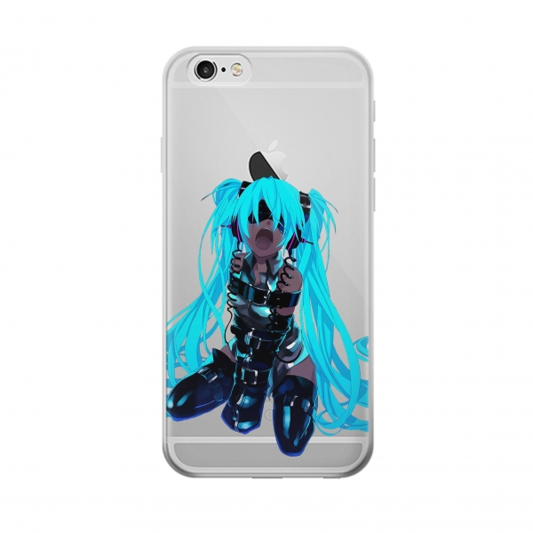Clear Vocaloid Hatsune Miku Bondage Iphone 6 Transparent Case