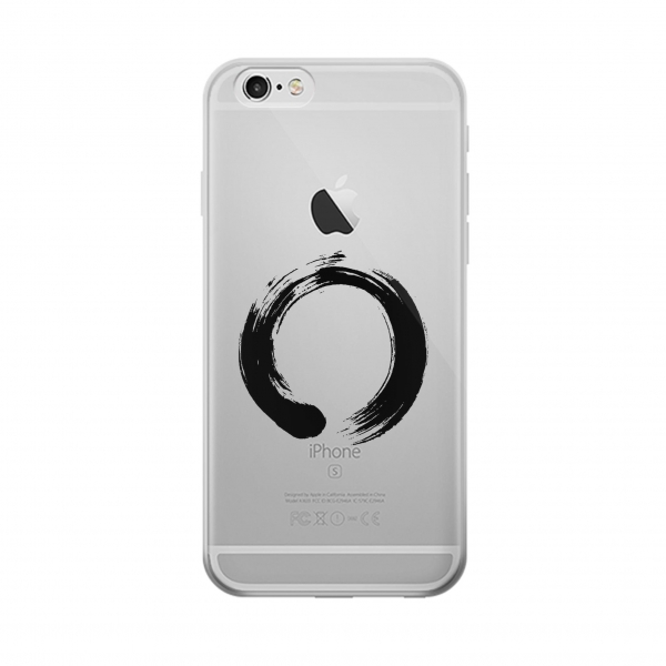 Clear Zen Buddhism Symbol Iphone 6 Transparent Case