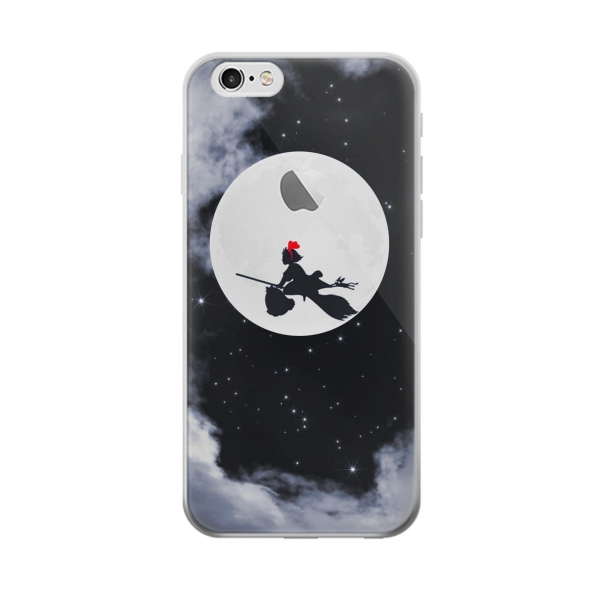 Clear Kiki Delivery Service Little Witch Kiki Moon Iphone 6 Transparent Case