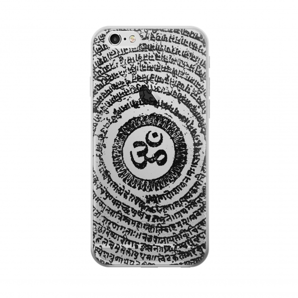 Clear Sak Yant Ohm Symbol Tattoo Iphone 6 Transparent Case