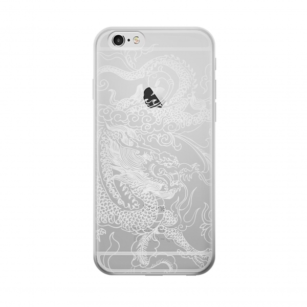 Clear Chinese Dragon Iphone 6 Transparent Case
