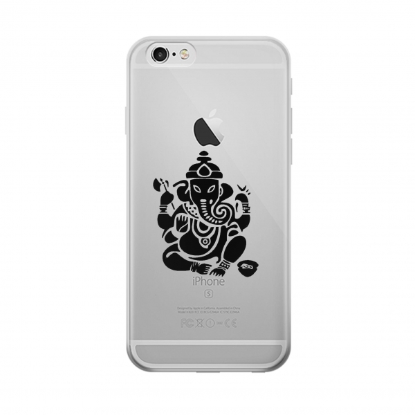 Clear Ganapati Ganesh Iphone 5 Transparent Case