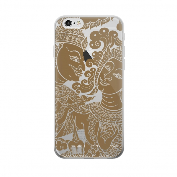 Clear Thai Traditional Art Iphone 5 Transparent Case