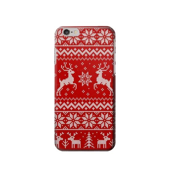 Christmas Reindeer Knitted Pattern Iphone 6 Plus6s Plus Case Now