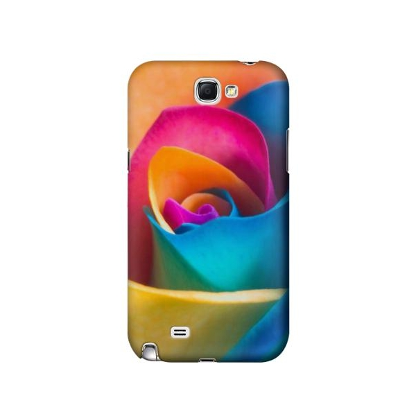 Rainbow Colorful Rose Case