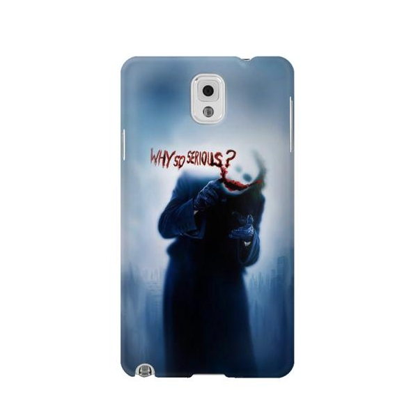 Batman Joker Why So Serious Phone Case Cover for Samsung Galaxy Note 3