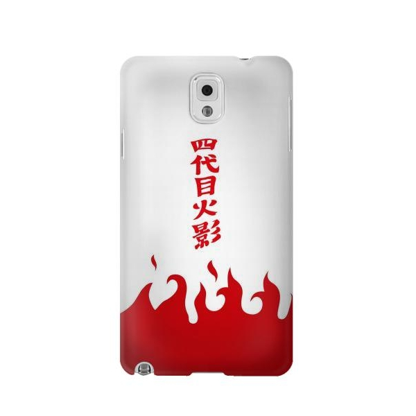 Naruto Yondaime 4th Hokage Minato Namikaze Cloak Phone Case Cover for Samsung Galaxy Note 3