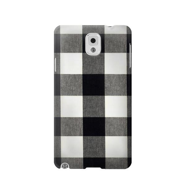 Black and White Buffalo Check Pattern Case