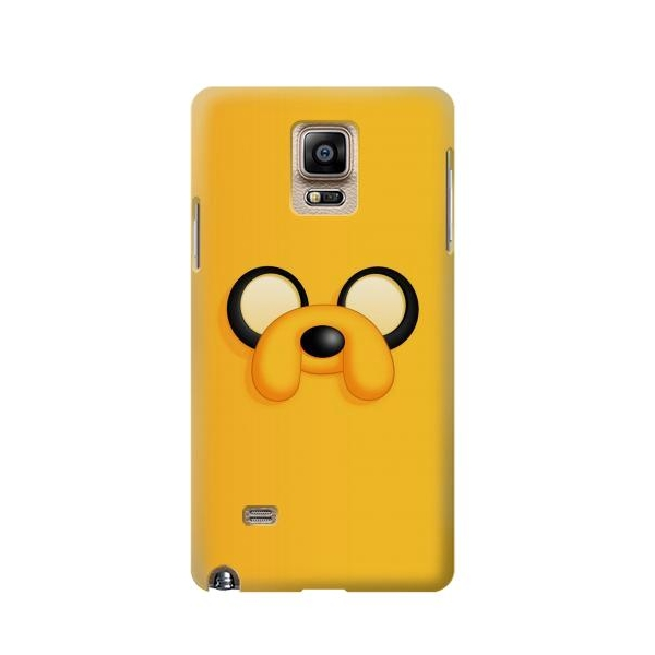 adventure time jake face samsung galaxy note 4 case cheap gn4