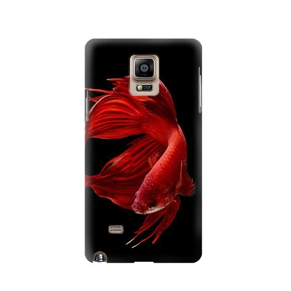 Red Siamese Fighting Fish Case