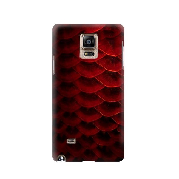Red Arowana Fish Scale Case