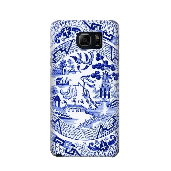 Willow Pattern Illustration Case