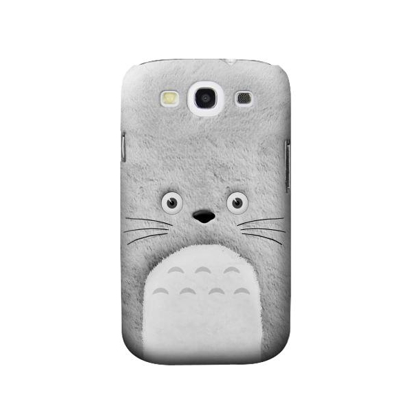 My Neighbor Totoro Grey Minimalist Case