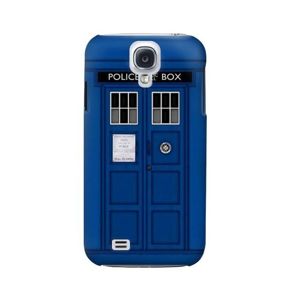 Doctor Who Tardis Phone Case Cover for Samsung Galaxy S4