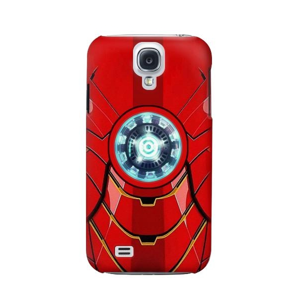 Ironman Armor Arc Reactor Graphic Printed Phone Case Cover for Samsung Galaxy S4