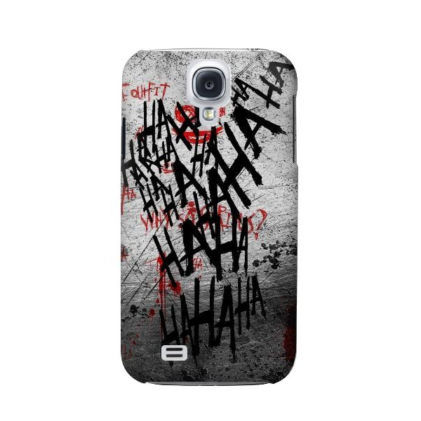 Joker Hahaha Blood Splash Phone Case Cover for Samsung Galaxy S4