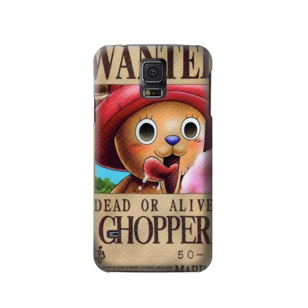 One Piece CHOPPER Wanted Poster Case