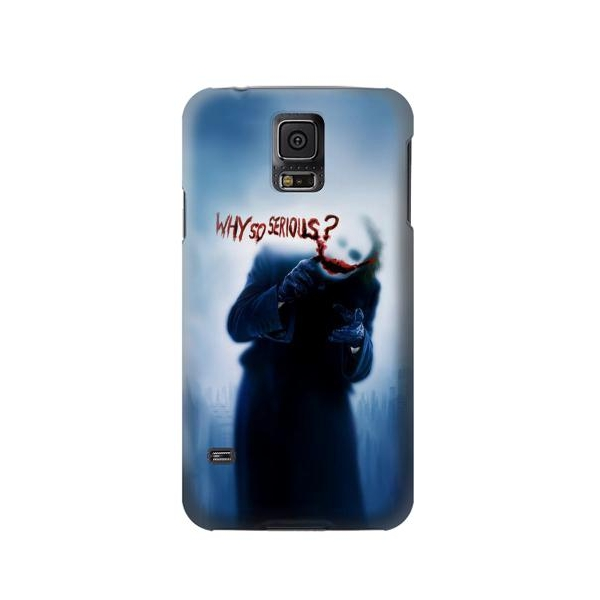 Batman Joker Why So Serious Phone Case Cover for Samsung Galaxy S5