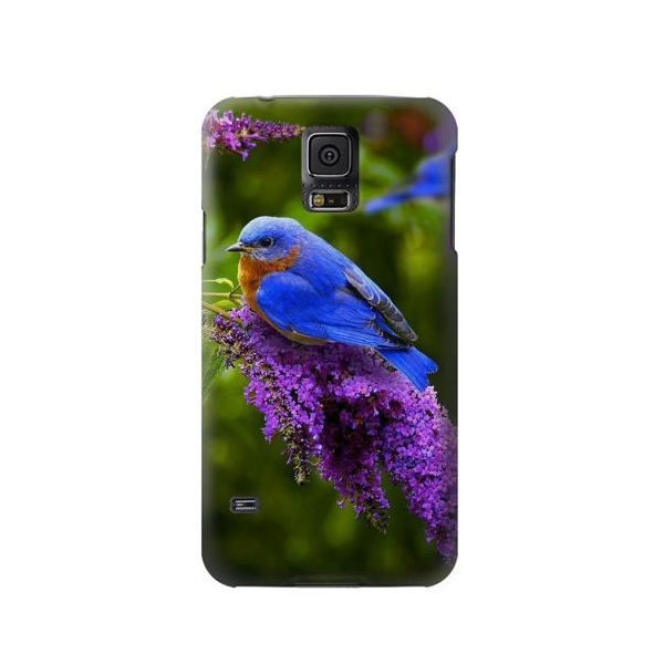 Bluebird of Happiness Blue Bird Phone Case Cover for Samsung Galaxy S5