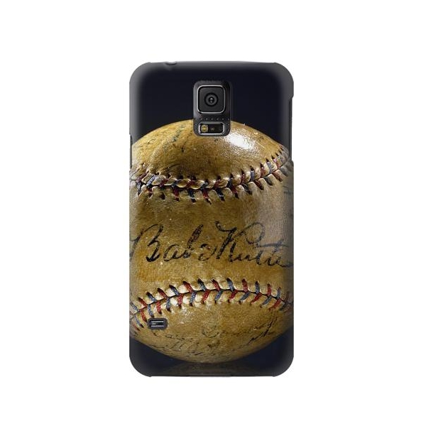 Babe Ruth Baseball Autographed Case