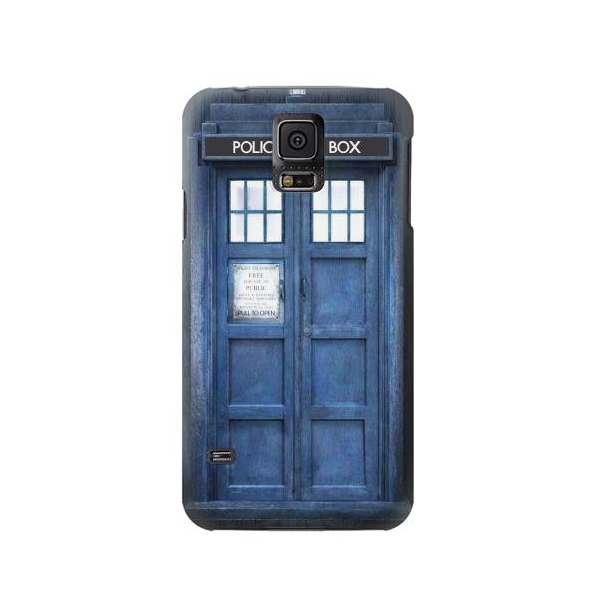 Doctor Who Tardis Phone Case Cover for Samsung Galaxy S5
