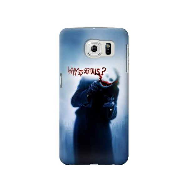 Batman Joker Why So Serious Phone Case Cover for Samsung Galaxy S6