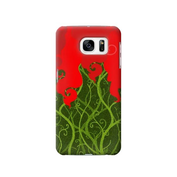 Poison Ivy Minimalist Phone Case Cover for Samsung Galaxy S7
