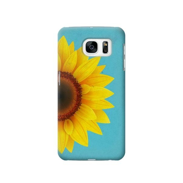 Vintage Sunflower Blue Samsung Galaxy S7 Case Lower Prices ...