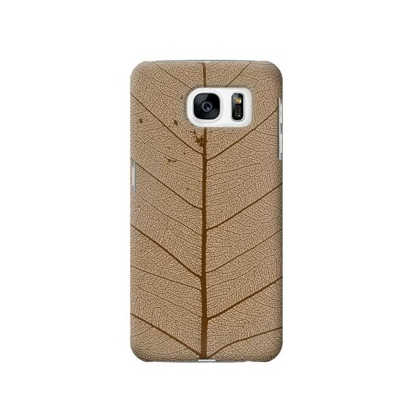 Skeleton Leaf Printed Phone Case Cover for Samsung Galaxy S7