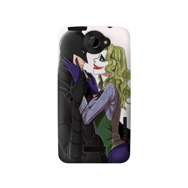 Parody Batman Joker Phone Case Cover for HTC One X
