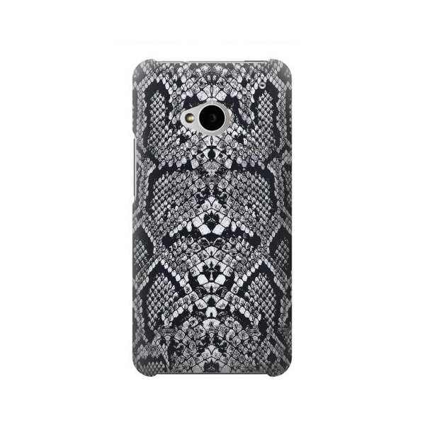 White Rattle Snake Skin Case