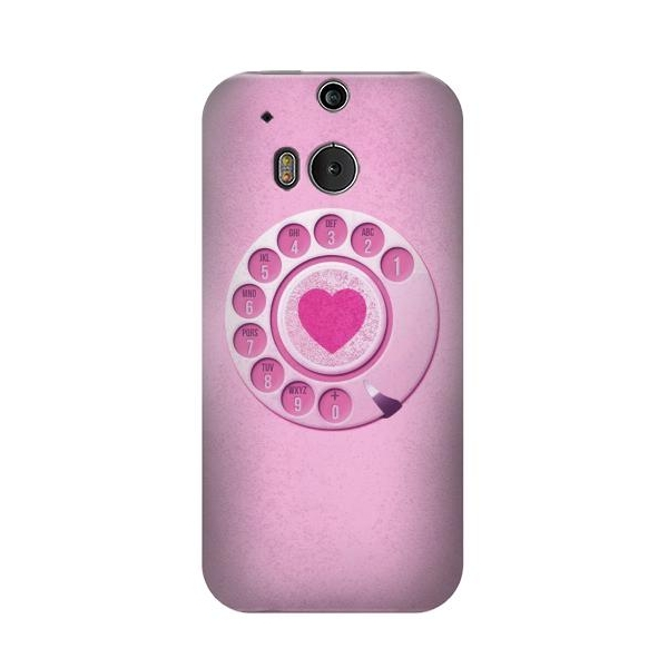 Pink Retro Rotary Phone Case