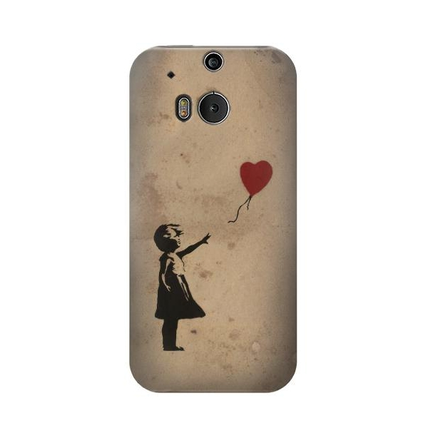 Girl Heart Out of Reach Phone Case Cover for HTC One M8
