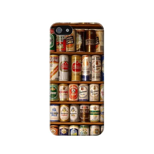 Beer Cans Collection Case