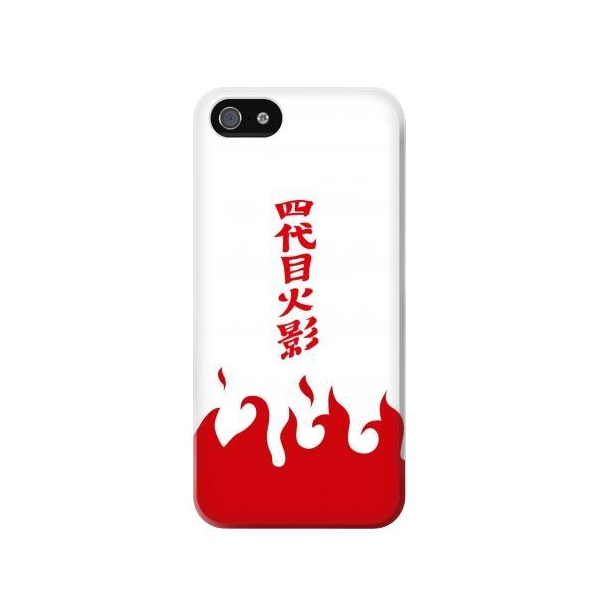 Naruto Yondaime 4th Hokage Minato Namikaze Cloak Phone Case Cover for iPhone 5c