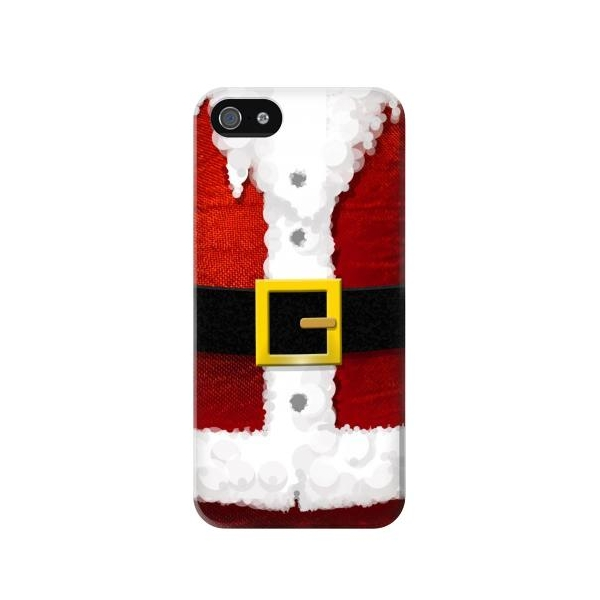 Christmas Santa Red Suit Phone Case Cover for iPhone 5c