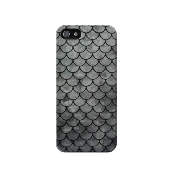 Silver Fish Scale Case