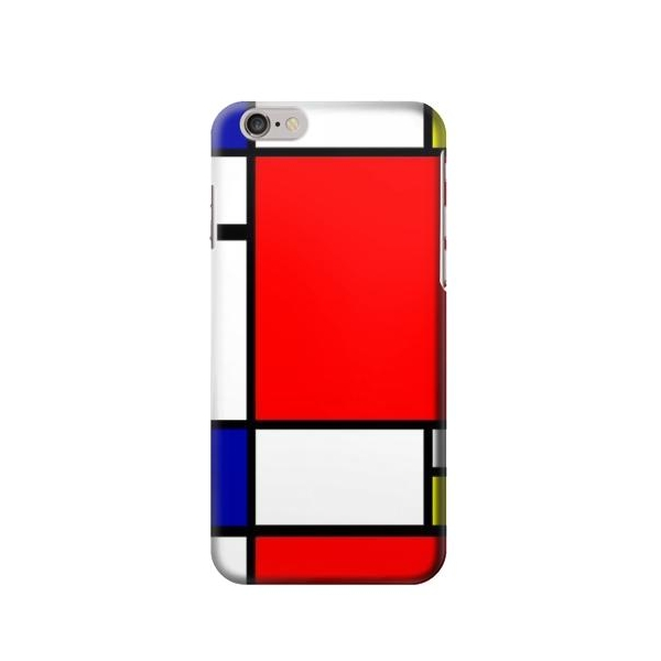 Composition Red Blue Yellow Case