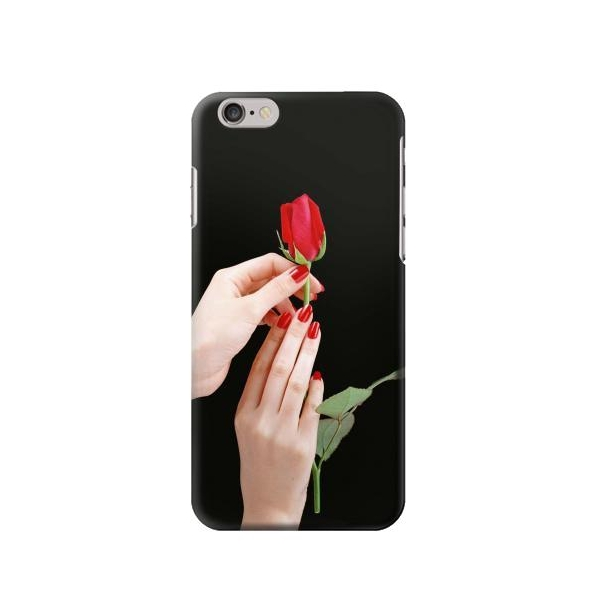 save off ce402 8ecb6 Hand Holding Red Rose Iphone 6 plus Case Great