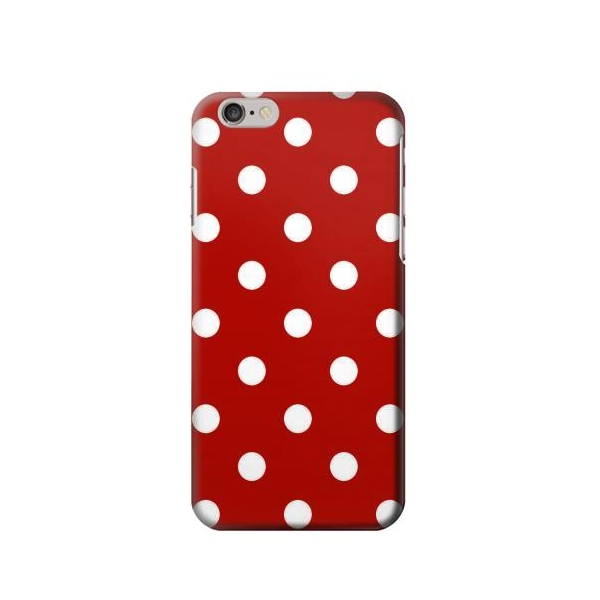 Red Polka Dots Phone Case Cover for iPhone 6 Plus/iPhone 6s Plus