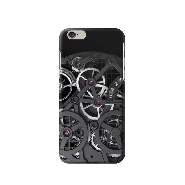 Inside Watch Black Phone Case Cover for iPhone 6 Plus/iPhone 6s Plus
